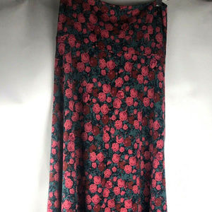 Lula Roe Women's Maxi floral comfortable stretchy